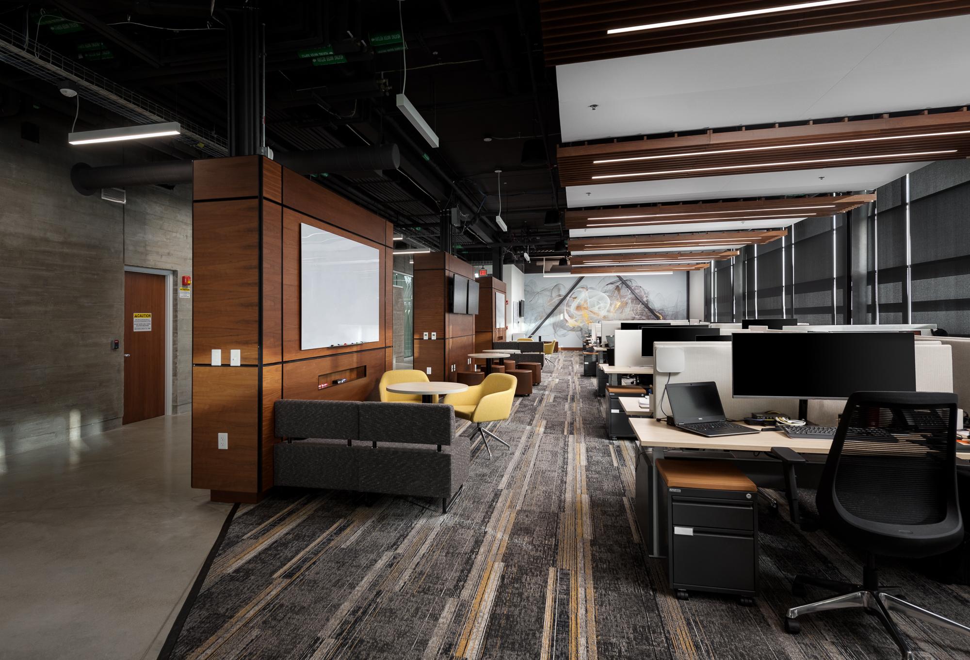 5 Scientel open work space